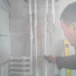 монтаж автономного отопления и водоснабжения. 44 7387838