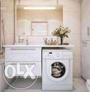Установка и подключение стиральных и посудомоечных машин.